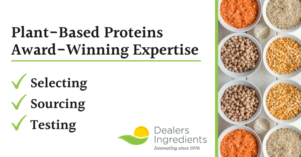 Plant-Based proteins award winning expertise